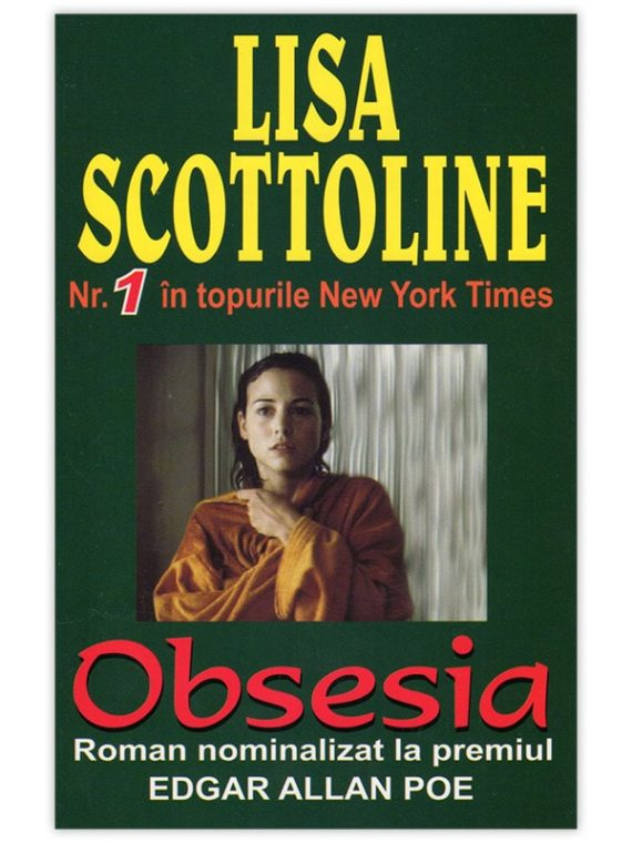 <span style='color:#ff0000;'>Lisa Scottoline :</span> <br> OBSESIA