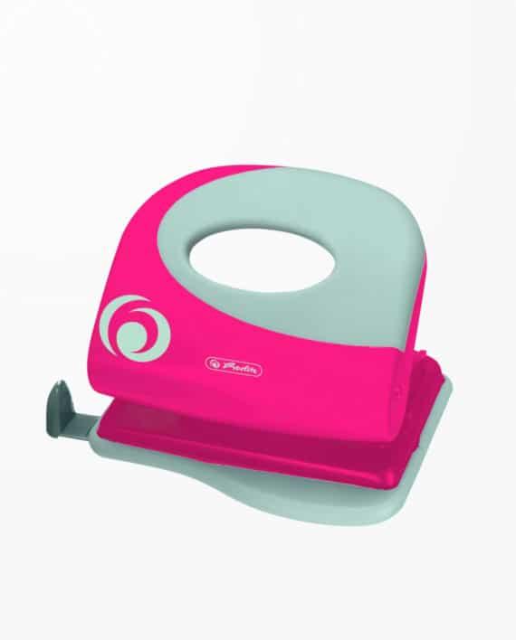 Perforator-Herlitz-roz-electrizant