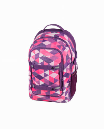 Rucsac ergonomic BEAT PURPLE CHECKED