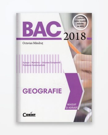 BAC Geografie 2018 - Octavian Mândruț