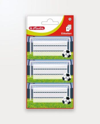 Etichete Școlare Fotbal