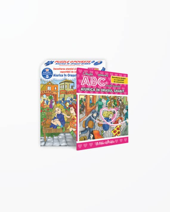 AIURICA-IN-ORASUL-GRABIT-Set-cu-puzzle-poveste-terapeutica