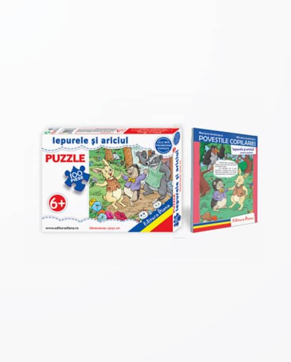 IEPURELE-SI-ARICIUL-Set-puzzle-carte-tip-acordeon