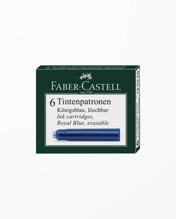 PATROANE-CERNEALA-ALBASTRA-FABER-CASTELL-SET-6