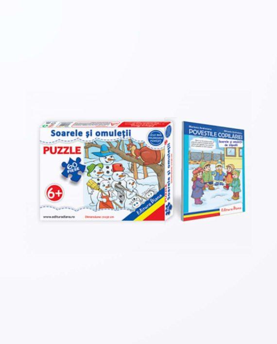 SOARELE-SI-OMULETII-Set-puzzle-carte-tip-acordeon