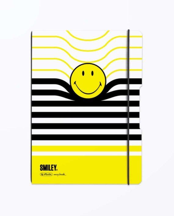 CAIET-MY.BOOK-FLEX-SMILEY-B-Y-STRIPES-A4-2-x-40-FILE-DICTANDO-MATEMATICA
