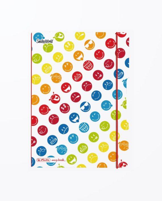 CAIET-MY.BOOK-FLEX-SMILEY-WORLD-RAINBOW-A5-40-FILE-MATEMATICA