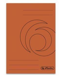DOSAR PLIC A4 CARTON ORANGE - 320 g/mp