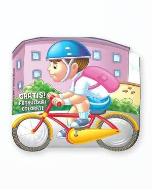 BICICLETA - Carte de colorat