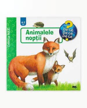 CARTE RAVENSBURGER MAXI - ANIMALELE NOPTII