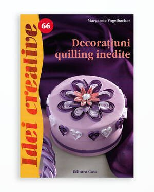 DECORATIUNI QUILLING INEDITE - IDEI CREATIVE 66