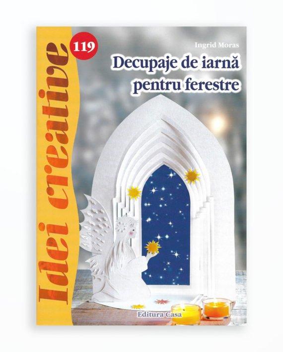 DECUPAJE DE IARNA PENTRU FERESTRE - IDEI CREATIVE 119