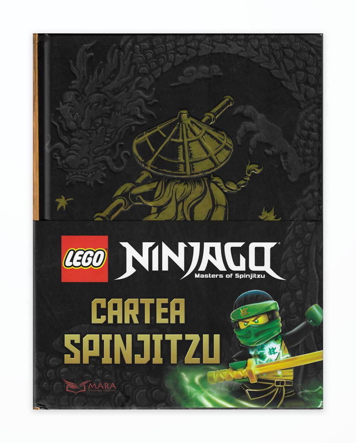 LEGO NINJAGO - CARTEA SPINJITSU
