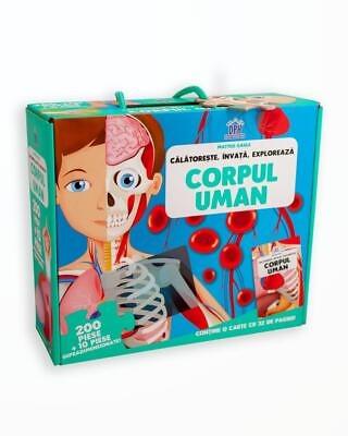 PUZZLE CORPUL UMAN - CALATORESTE