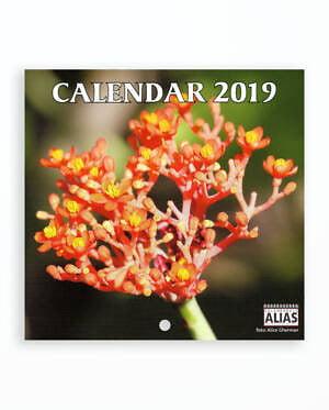 MINI CALENDAR SPIRALAT FLORI 2019