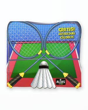BADMINTON - Carte de colorat