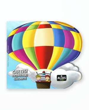 BALONUL - Carte de colorat