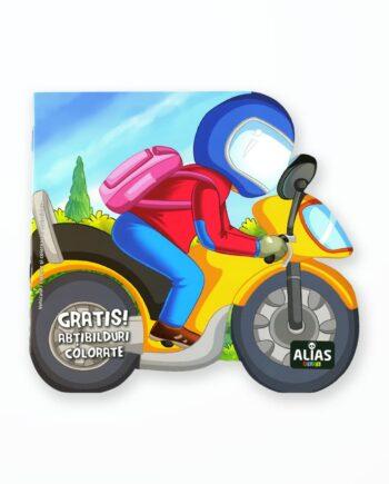 MOTOCICLETA - Carte de colorat