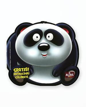 URSUL PANDA - Carte de colorat
