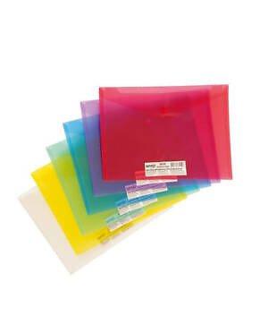 MAPA PP A4 CU BUTON SPREE - diverse culori