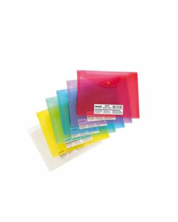 MAPA PP A5 CU BUTON SPREE - diverse culori