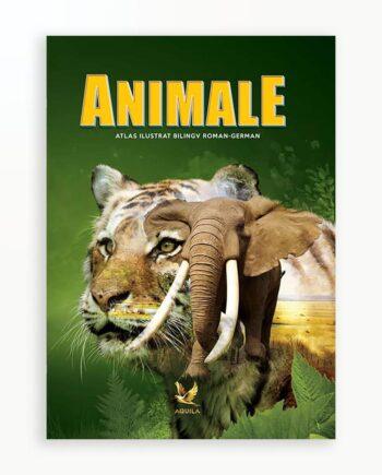 Atlas Ilustrat Animale - Bilingv Ro-Ger