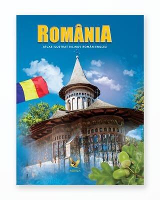 Atlas Ilustrat Romania - Bilingv Ro-En
