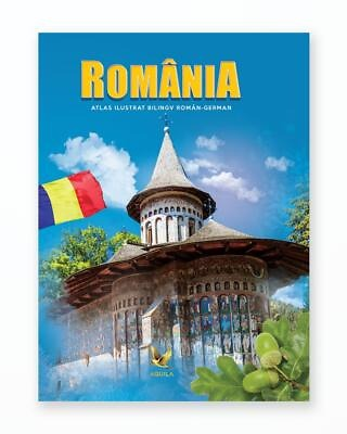 Atlas Ilustrat Romania - Bilingv Ro-Ger