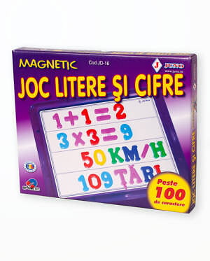 LITERE SI CIFRE MAGNETICE