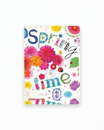 Caiet My.Book Flex A5 2X40F Dictando+Patratele Motiv Spring Time