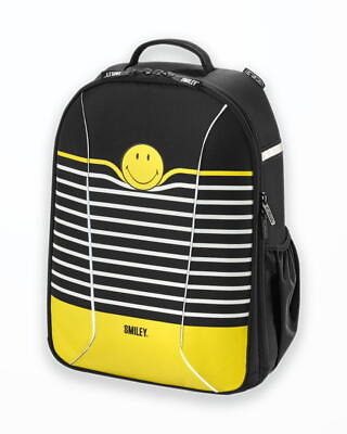 Rucsac Herlitz  Be.Bag Ergonomic Airgo Smiley World Black Stripes