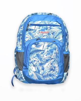 rucsac holic motiv blue leaves
