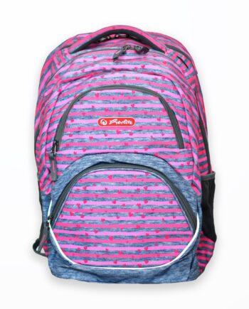rucsac rocky motiv pink stripes