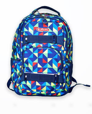 rucsac skater motiv colorful harlequin