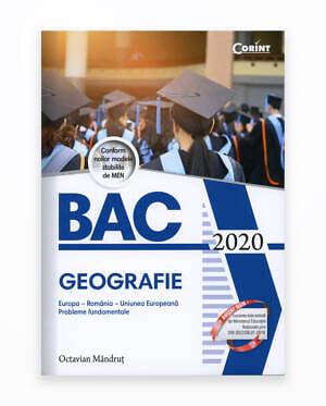 Bac 2020 Geografie