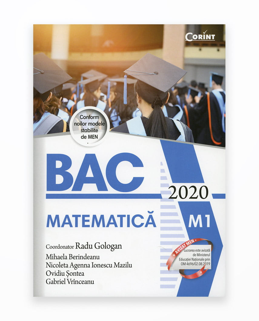 Bac 2020 Matematica