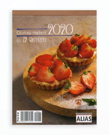 Calendar Magnetic Cu 12 Retete - 2020