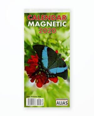 Calendar Magnetic Fluturi - 2020