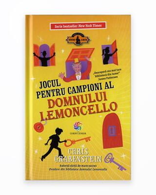 Jocul Pentru Campioni Ai Domului Lemoncello - Lemoncello Vol. 4