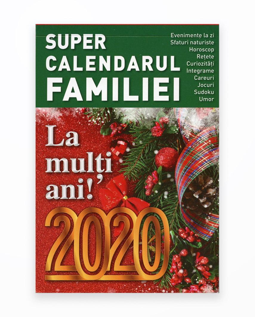 Super Calendarul Familiei 365 File 2020