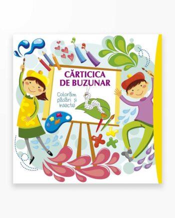 Coloram Pasari Si Insecte - Carticica De Buzunar Vol. 2