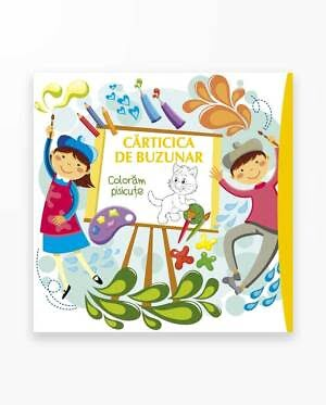 Coloram Pisicute - Carticica De Buzunar Vol. 4