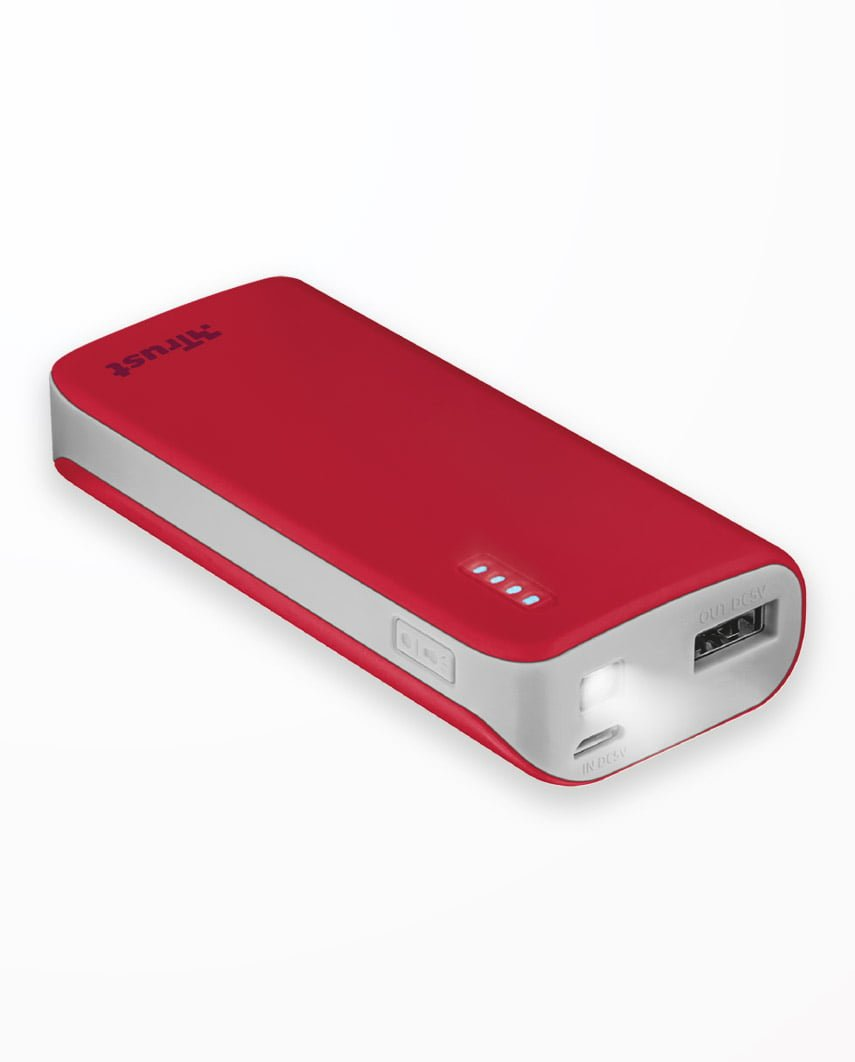 Baterie Externa Trust Primo Pwrbank 4400 Red