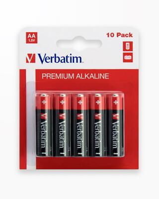 Baterii Verbatim Aa/Lr6 Mignon Alkaline - Blister Pachet 10