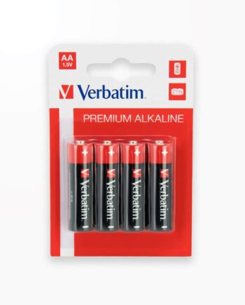 Baterii Verbatim Alkaline Aa - Blister Pachet 4