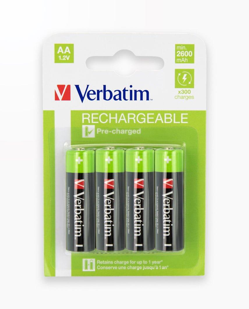 Acumulatori Verbatim Aa/R6