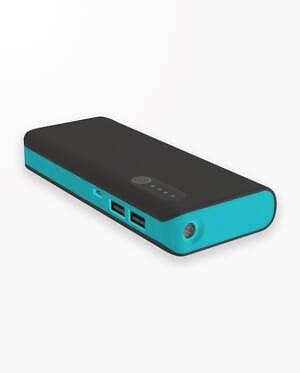 Baterie Externa Platinet Power Bank 13000 - Negru/Albastru