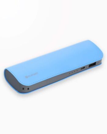 Baterie Externa Platinet Power Bank Leather 7200 Albastru