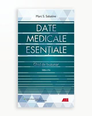 Date Medicale Esentiale. Ghid De Buzunar