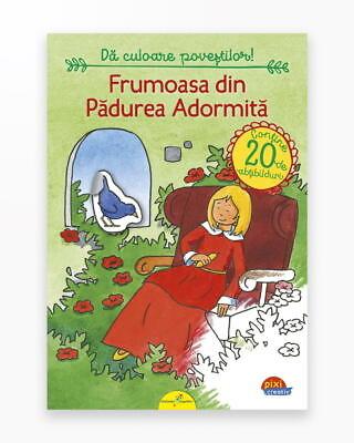 Frumoasa Din Padurea Adormita - Pixi Autocolant